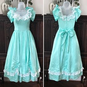 Gunne Sax Dresses - Gunne Sax Jessica McClintock Bo Peep Dress 80s 5